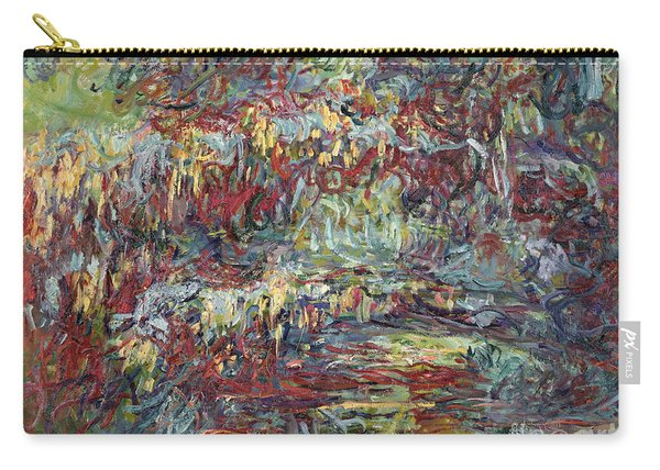 The Japanese Bridge At Giverny Carry-all Pouch