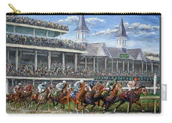 The Kentucky Derby - Churchill Downs Carry-all Pouch