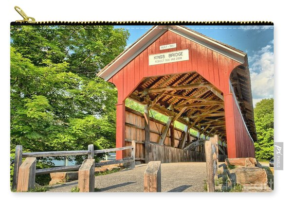 The King Covered Bridge Carry-all Pouch