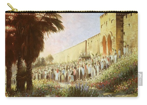 The King Is Coming  Jerusalem Carry-all Pouch