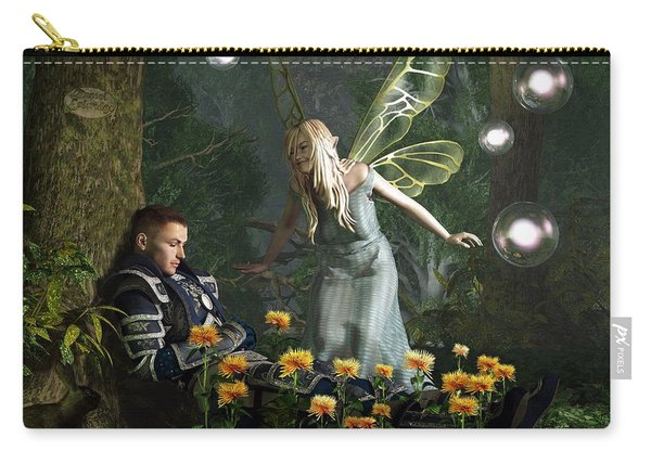 The Knight And The Faerie Carry-all Pouch