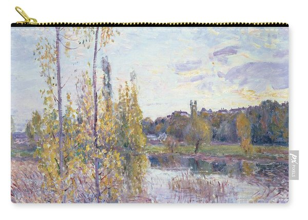 The Lake At Chevreuil Carry-all Pouch