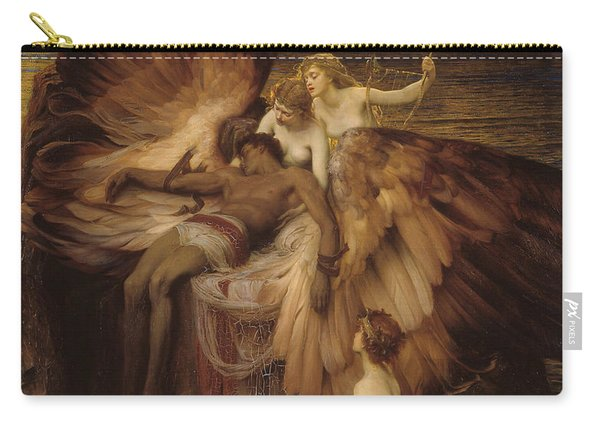 Carry-all Pouch featuring the painting The Lament For Icarus by Herbert James Draper