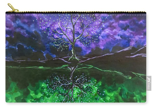 Carry-all Pouch featuring the painting The Last Song by Joel Tesch