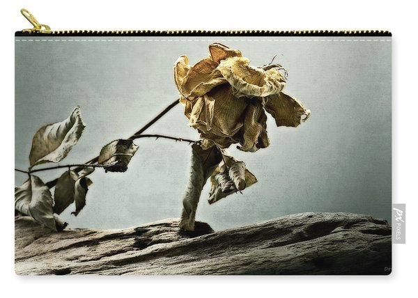 The Last Yellow Rose Of Summer Carry-all Pouch