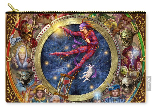 The Legacy Of The Devine Tarot Carry-all Pouch