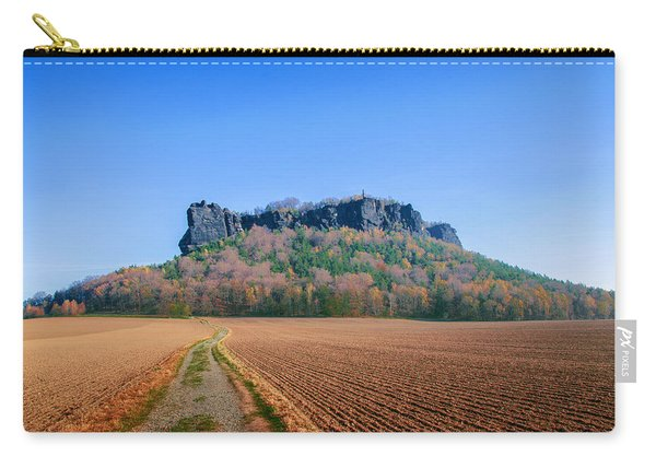 The Lilienstein On An Autumn Morning Carry-all Pouch