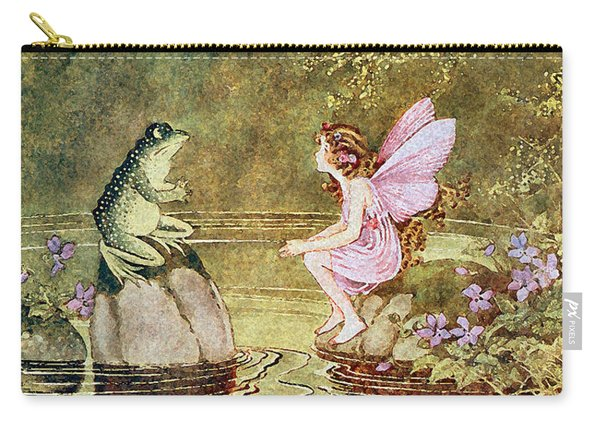 The Little Green Road To Fairyland  Carry-all Pouch