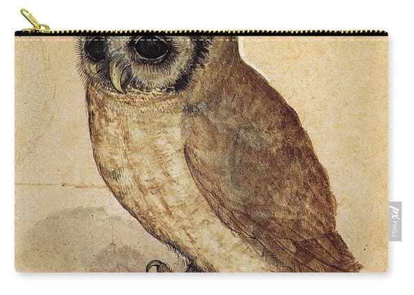 The Little Owl 1508 Carry-all Pouch