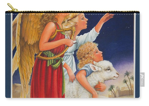 The Little Shepherd Boy Carry-all Pouch