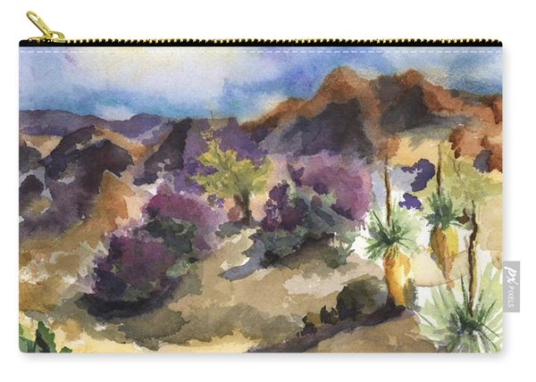The Living Desert Carry-all Pouch