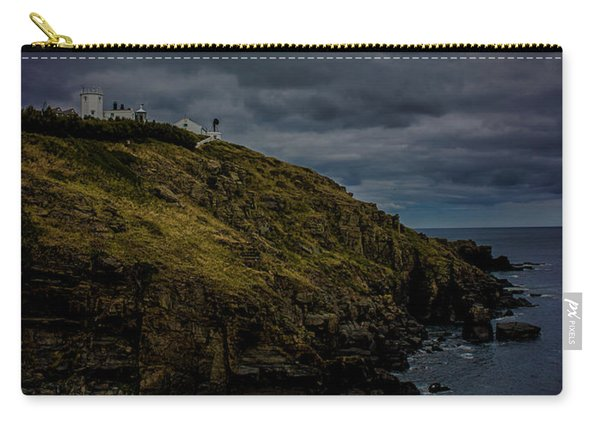 The Lizard Cornwall Storm Approaching Carry-all Pouch