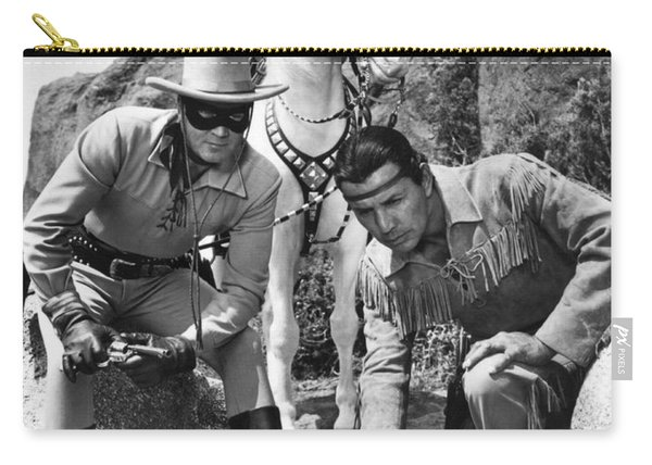 The Lone Ranger And Tonto Carry-all Pouch