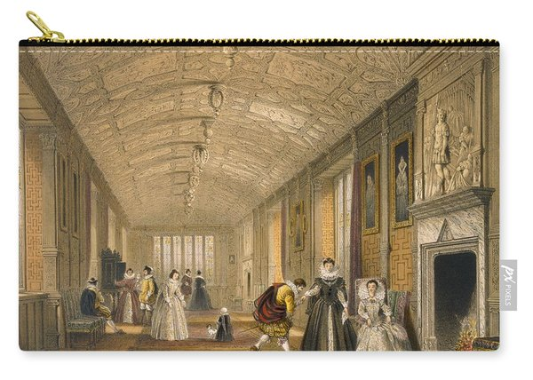 The Long Gallery At Lanhydrock Carry-all Pouch