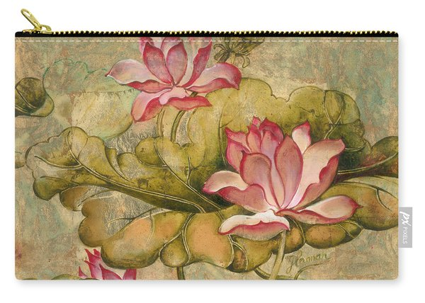 The Lotus Family Carry-all Pouch