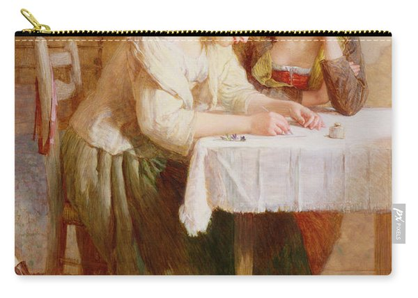 The Love Letter, 1871 Carry-all Pouch