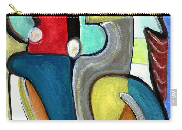The Lovers Carry-all Pouch