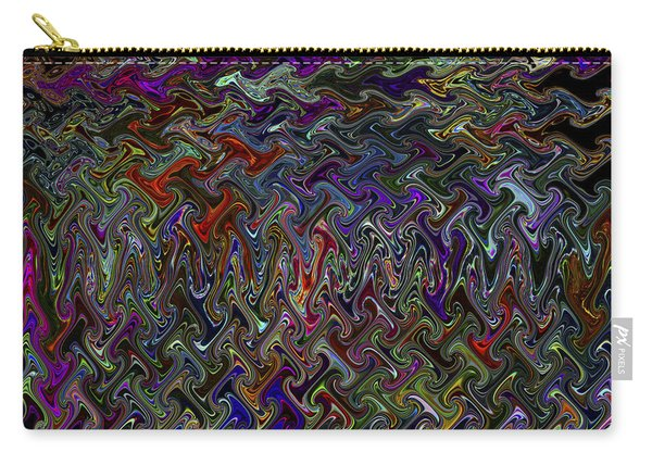 The Making Of A Soul - Color Melt - Creamy Dreamy Color Inside Me  Carry-all Pouch