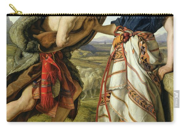The Meeting Of Jacob And Rachel Carry-all Pouch