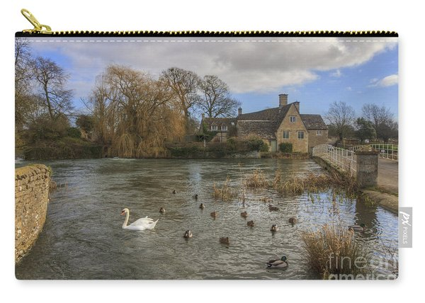 The Millhouse At Fairford Carry-all Pouch