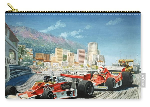 The Monaco Grand Prix Carry-all Pouch