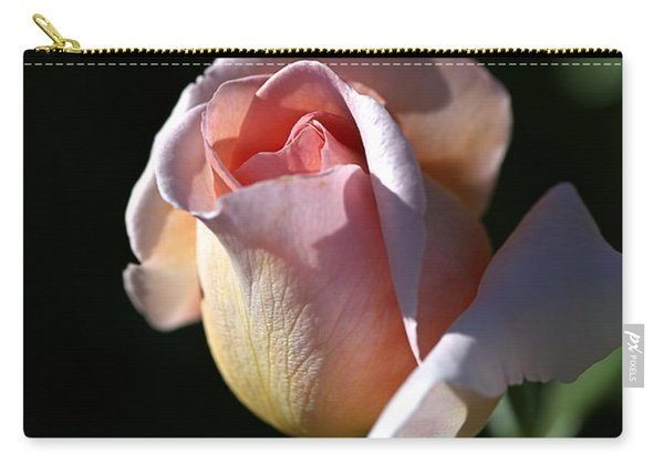 The Morning Pink Rose Carry-all Pouch