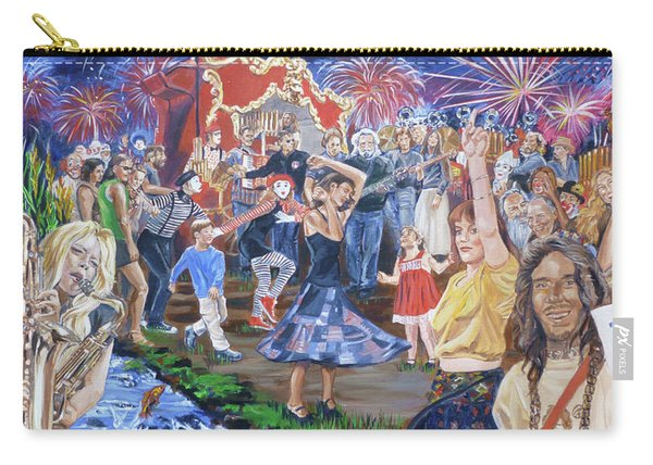 The Music Never Stopped Carry-all Pouch