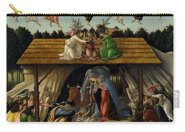 The Mystical Nativity Carry-all Pouch