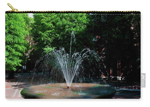 The Old North Church And Fountain Carry-all Pouch