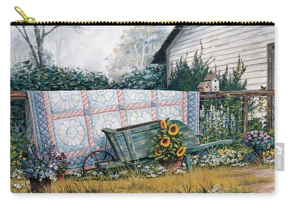 The Old Quilt Carry-all Pouch