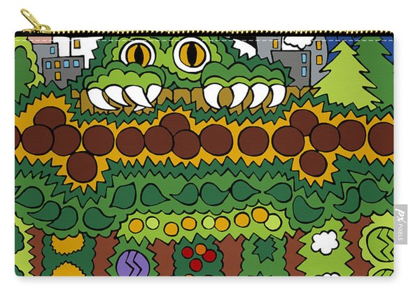 The Other Side Of The Garden  Carry-all Pouch