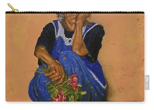 The Parga Flower Seller Carry-all Pouch
