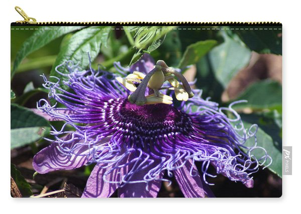 The Passion Flower Carry-all Pouch