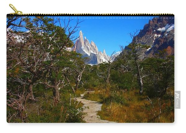 The Path To Mountains Carry-all Pouch
