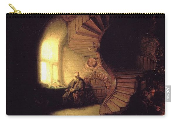 The Philosopher In Meditation Carry-all Pouch