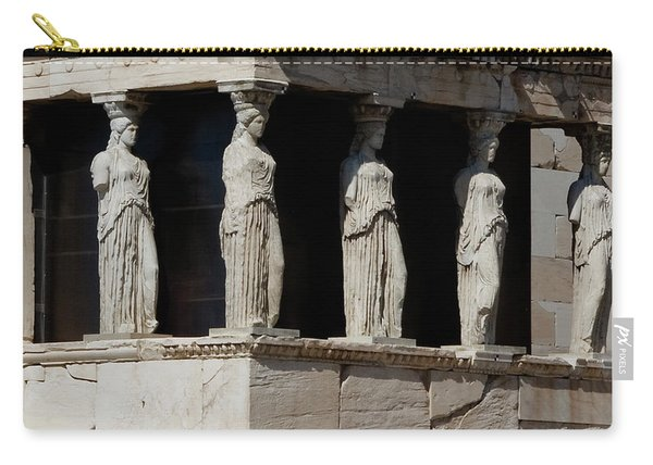 The Porch Of Maidens Carry-all Pouch