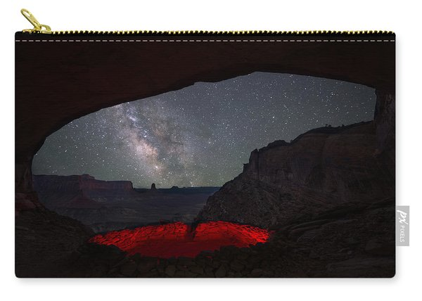 Carry-all Pouch featuring the photograph The Portal by Dustin  LeFevre