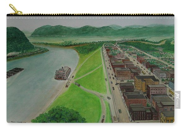 The Portsmouth Ohio Boneyfiddle District 1948 Carry-all Pouch