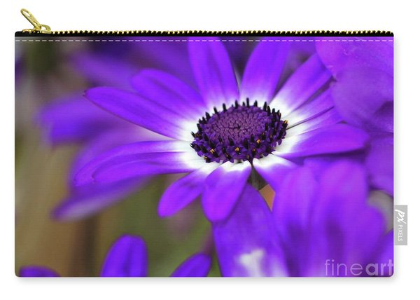 The Purple Daisy Carry-all Pouch