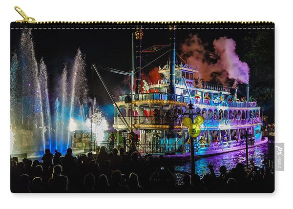 The Mark Twain Disneyland Steamboat  Carry-all Pouch