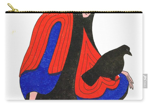 The Raven From Artist Proof 1 Carry-all Pouch