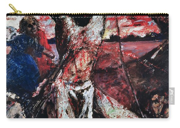 The Red Christ Carry-all Pouch