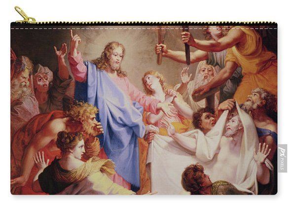 The Resurrection Of Lazarus  Carry-all Pouch