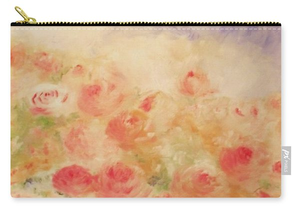 The Rose Bush Carry-all Pouch
