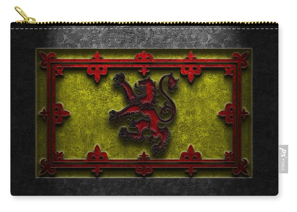 The Royal Standard Of Scotland Stone Texture Carry-all Pouch