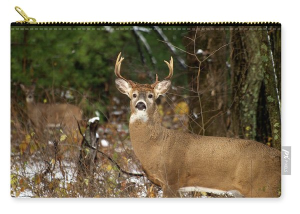 The Rutting Whitetail Buck Carry-all Pouch