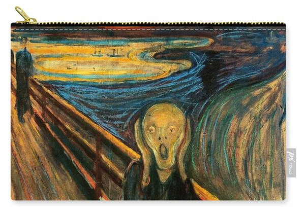 The Scream Edvard Munch 1893                    Carry-all Pouch