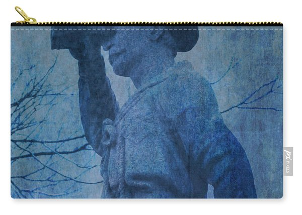 The Seaman In Blue Carry-all Pouch