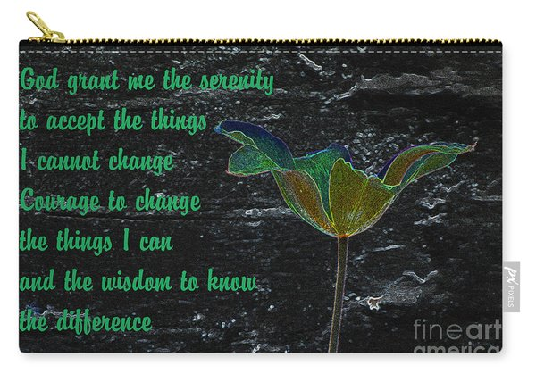 The Serenity Prayer 2 Carry-all Pouch