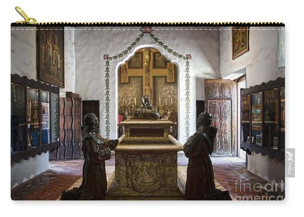 The Serra Cenotaph In Carmel Mission Carry-all Pouch